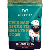 GivePet Breakfast All Day Dog Treats, 12-oz Bag