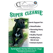 Glacier Peak Super Cleanse Detoxification Supplement for Dogs, 16-oz Powder