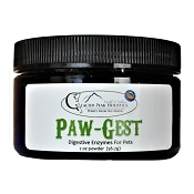 Glacier Peak Paw-Gest Digestive Enzymes Supplement for Dogs & Cats, 2-oz Powder