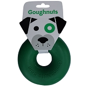 GoughNuts Original Green Ring USA Dog Toy