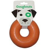 GoughNuts Original Orange Ring USA Dog Toy