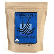 Harrison's Adult Lifetime Coarse Organic Bird Food, 5-lb Bag