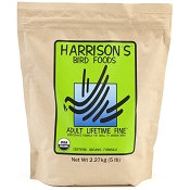 Harrison's Adult Lifetime Fine Organic Bird Food, 5-lb Bag