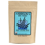 Harrison's Adult Lifetime Mash Organic Bird Food, 1-lb Bag