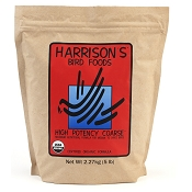 Harrison's High Potency Coarse Organic Bird Food, 5-lb Bag