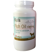Healthy Dogma Fish Oil Dog Supplement, 90-Soft Gel Capsules