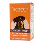 Herbsmith Comfort Aches Herbal Allergy Dog Supplement, 270-Count