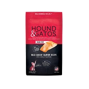 Hound & Gatos Grain-Free Salmon Recipe Dry Cat Food, 6-lb Bag