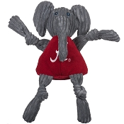 HuggleHounds Alabama Big Al Mascot Knottie Dog Toy, Large