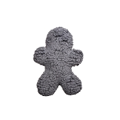 HuggleHounds Huggle Fleece Gray Man, Medium