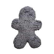 HuggleHounds Huggle Fleece Gray Man, Super-Size