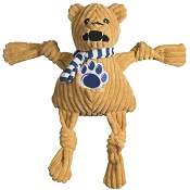 HuggleHounds Penn State University Nittany Lion Knottie Dog Toy, Large