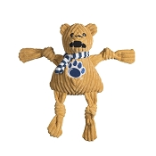 HuggleHounds Penn State University Nittany Lion Knottie Dog Toy, Small