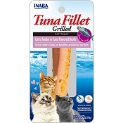 Inaba Ciao Grain-Free Grilled Tuna Fillet Extra Tender in Tuna Flavored Broth Cat Treat