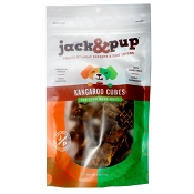 Jack & Pup Kangaroo Cubes Dog Treats, 4-oz Bag