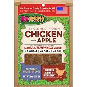 K9 Granola Factory Dehydrated Chicken with Apple Meat Treats For Dogs, 8-oz Bag