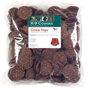 K9 Kraving Green Tripe Cookies Dog Treats, 5-lb Bag