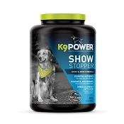 K9 Power Show Stopper Skin & Coat Dog Supplement, 4-lb