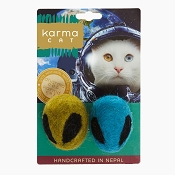 Karma Cat Alien Head Wool Toys