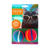 Karma Cat Beach Ball Wool Toys