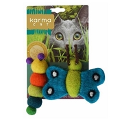 Karma Cat Caterpillar & Butterfly Wool Toys