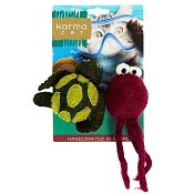 Karma Cat Turtle & Jellyfish Toys