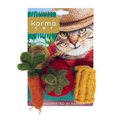 Karma Cat Veggies Wool Toys