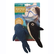 Karma Cat Whale & Orca Wool Toys