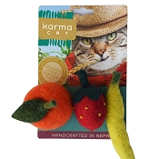 Karma Cat Wool Fruit Toys