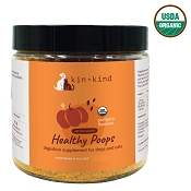 Kin + Kind Pumpkin Fiber Stomach & Bowel Support for Dogs and Cats, 8-oz