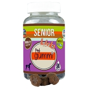 Licks SENIOR Mobility Support Omega 3 Gummi Chewable Senior Dog Supplement, 90 count