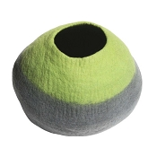 Lollycadoodle Wool Cat Cave, Green