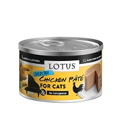 Lotus Chicken Pate Grain-Free Canned Cat Food, 2.5-oz, case of 24