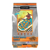 Lotus Oven-Baked Small Bites Grain-Free Duck & Cassava Recipe Dry Dog Food, 10-lb Bag