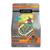 Lotus Oven-Baked Small Bites Grain-Free Duck & Cassava Recipe Dry Dog Food, 4-lb Bag