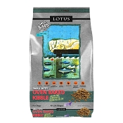 Lotus Oven-Baked Small Bites Grain-Free Sardine & Herring Recipe Dry Dog Food, 10-lb Bag