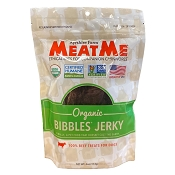 MeatMe Organic Bibbles Beef Jerky Treats for Dogs