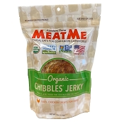 MeatMe Organic Chibbles Chicken Jerky Treats for Dogs