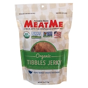 MeatMe Organic Tibbles Turkey Jerky Treats for Dogs