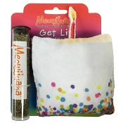 Meowijuana Refillable Get Lit Catnip Cake Cat Toy
