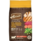 Merrick Real Chicken + Sweet Potato Recipe Grain-Free Adult Dry Dog Food, 22-lb Bag