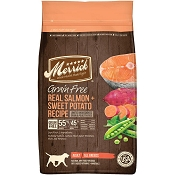 Merrick Real Salmon + Sweet Potato Recipe Grain-Free Adult Dry Dog Food, 22-lb Bag