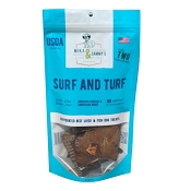 Mika & Sammy's Surf and Turf Jerky Dog Treats, 5-oz Bag