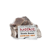 Mosaic Exotic Antelope Neck Bone Dog Treat