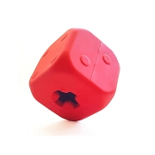Mutts Kick Butt Rubber Dice Made in USA Dog Toy, Large