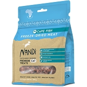Nandi Cape Fish Freeze-Dried Dog Treats, 2-oz Bag
