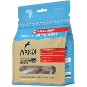 Nandi Nguni Beef Freeze-Dried Dog Treats, 2-oz Bag