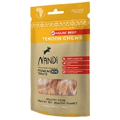 Nandi Nguni Beef Tendon Chews Dog Treats, 3.5-oz Bag