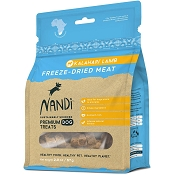 Nandi Kalahari Lamb Freeze-Dried Dog Treats, 2-oz Bag
