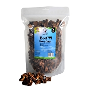 Natural Cravings Beef Roasters Dog Treats, 1-lb Bag